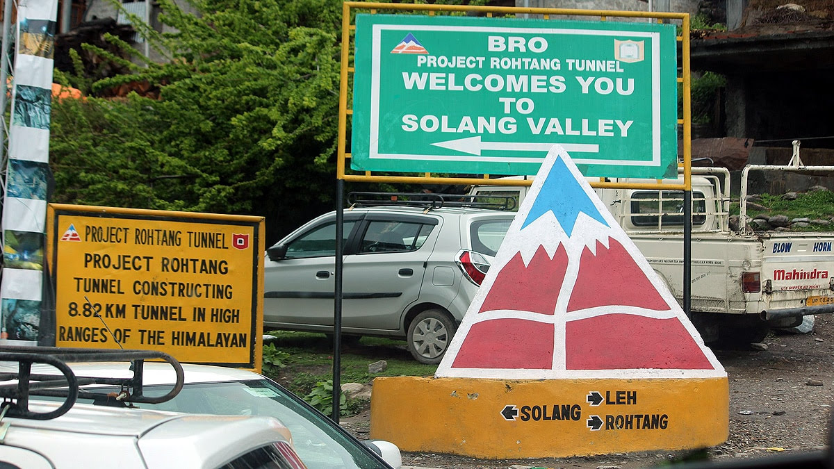 Atal Rohtang Tunnel Longest High Altitude Road tunnel