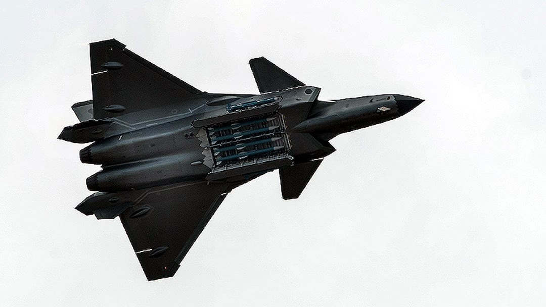 China Flown J-20 Over LAC Ladakh Rafale prepared for action