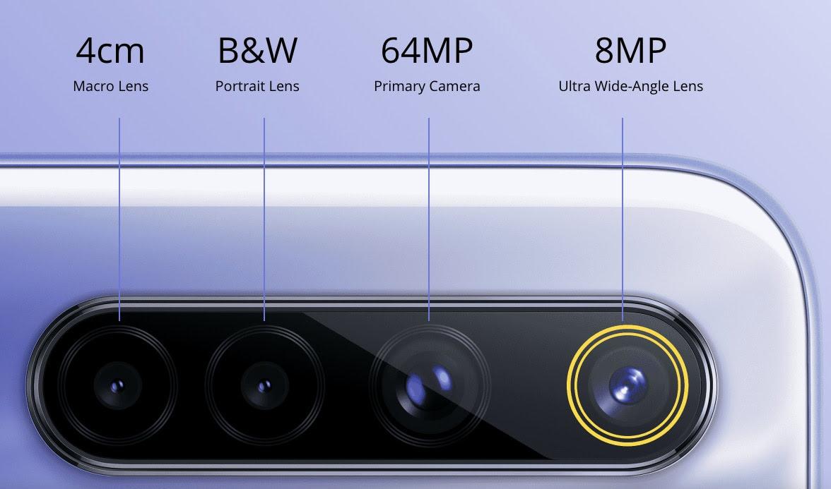 Realme 64 mp camera smartphone sale